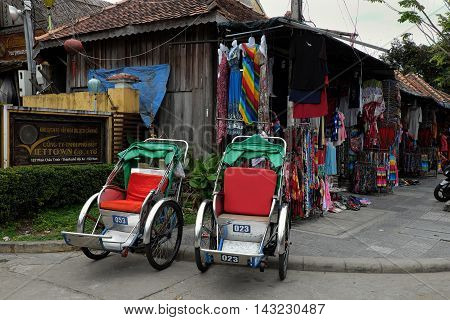Pedicab At Hoi An Old Town