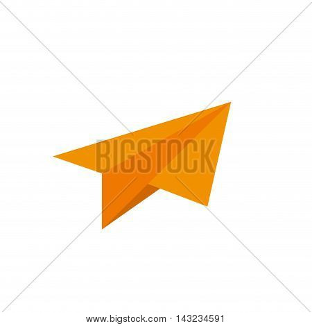 paperplane sky paper air fly plane toy creative vector illustration