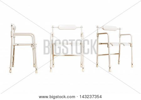 medical chair 3 positions for disabled people isolated
