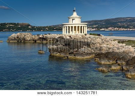Lighthouse of St. Theodore at Argostoli,Kefalonia, Ionian islands, Greece