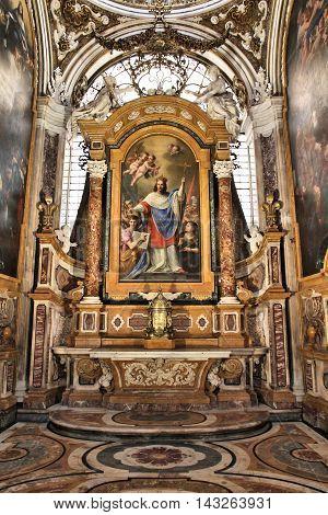 Rome Church Interior