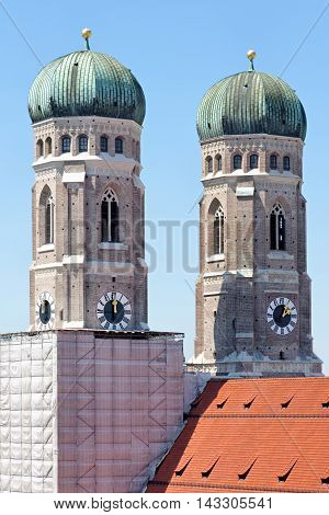 Munich Frauenkirche Cathedral of Our Dear Lady Bavaria Germany.