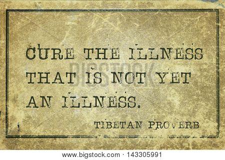 Cure Illness Tp