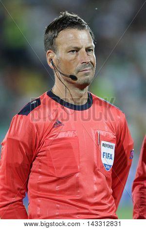 Mark Clattenburg Football Referee