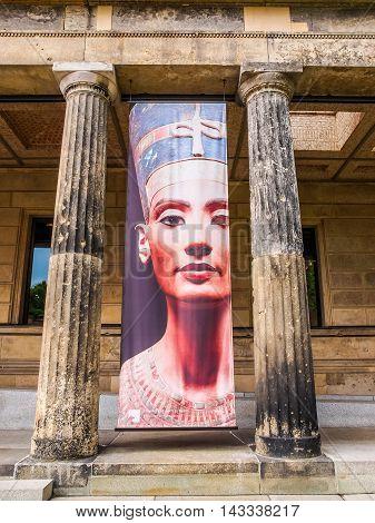 Nefertiti At Neues Museum Berlin (hdr)
