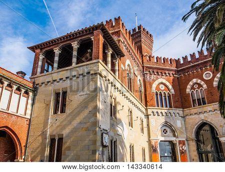 Albertis Castle In Genoa Italy (hdr)