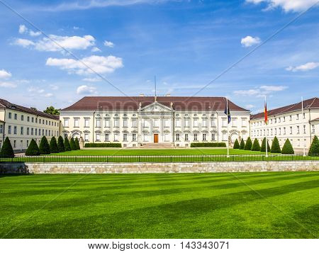 Schloss Bellevue Berlin (hdr)