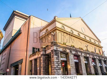 Carlo Felice Opera House Genoa (hdr)