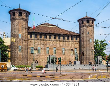 Piazza Castello In Turin (hdr)