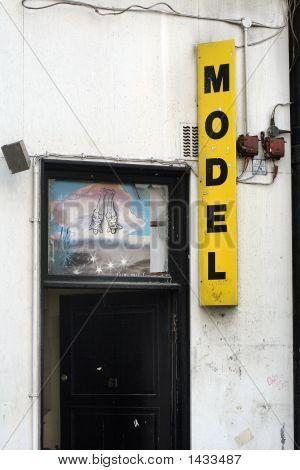 Soho Doorway
