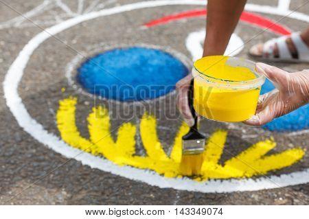 Painting Playground.