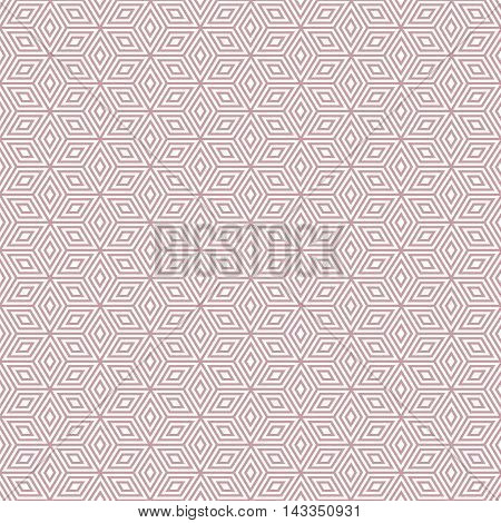 pink and white geometric pattern background vector.