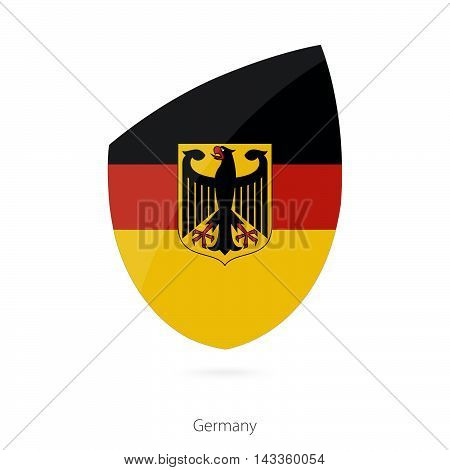 Flag Of Germany. Germany Rugby Flag.