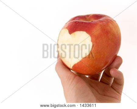 Apple With Heart 01