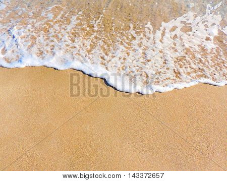 Sand texture or background with copy space. Full frame shot.