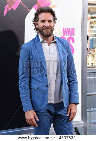 LOS ANGELES - AUG 15:  Bradley Cooper arrives to the