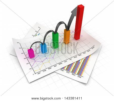 Business Chart And Documents
