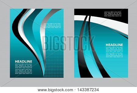 Clean background design with space for message. Vector