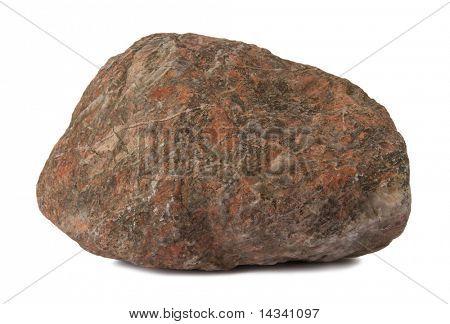 Isolated stone