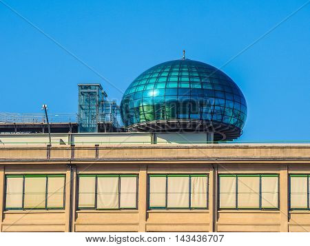 Lingotto Conference Centre In Turin (hdr)