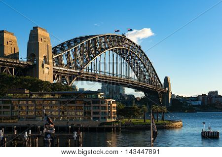Sydney Harbour Bridge And Views Of North Sydney