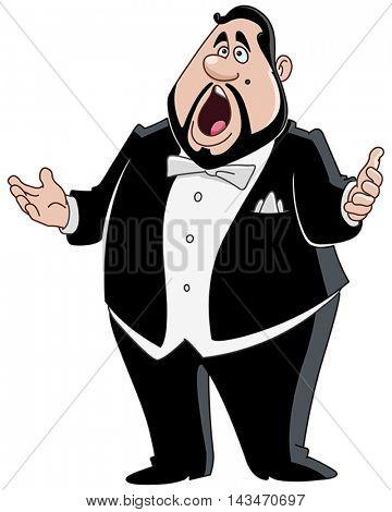 Male opera singer