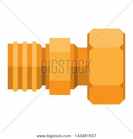 Details water pipes different types collection. Vector set of water pipes water tube industry, gas valve construction. Oil industrial pressure technology plumbing pipes. Steel factory engineering