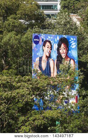Giant Billboards In Nairobi, Kenya, Editorial