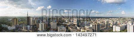 Nairobi Center Panorama, Kenya