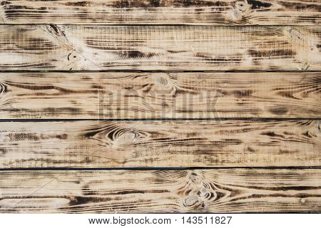 wooden planks background of burnt. old burnt boards