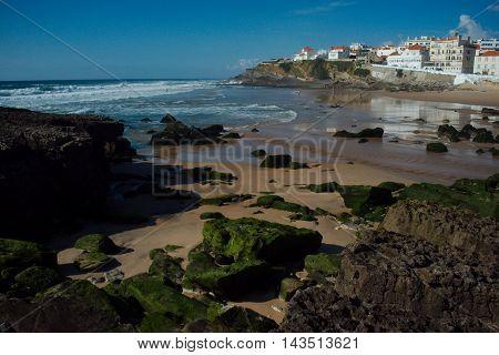 Praia das Maçãs in Colares near Lisboa in Portugal