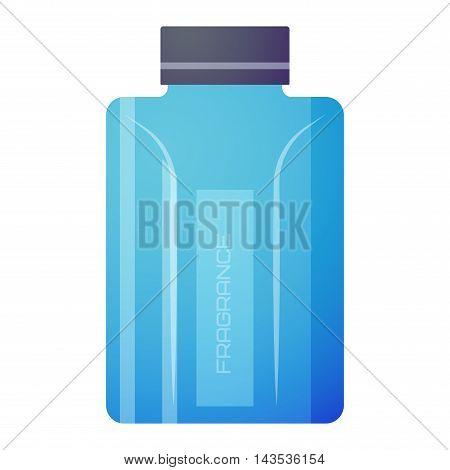 Vector perfume fashion container smell spray. Vector illustration perfume shop symbols elegant merchandise gift. Beauty liquid luxury fragrance aroma perfume bottle aromatherapy. poster