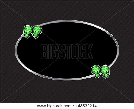 Peridot Stone Quotes on Silver Metal Speech Bubble over Pinstripe Background