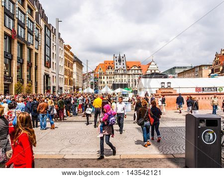 Bachfest Leipzig (hdr)
