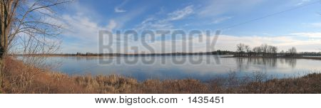 Large View Of The Thousand Islands Lake, Canada, Panorama