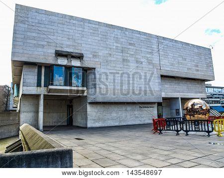 Berkeley Library In Dublin (hdr)