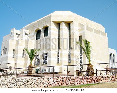 Synagogue building in Ramat Gan 10 October 2010 Israel