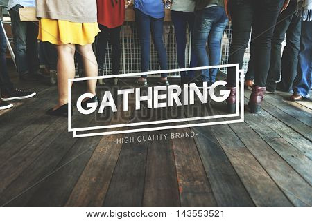 Get Together Gethering Support Teamwork Concept