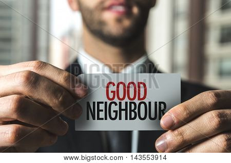 Good Neighbour