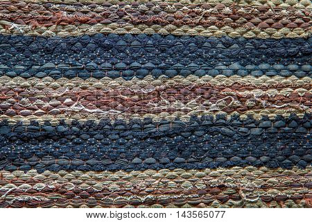 the texture of Doormat old background, texture background
