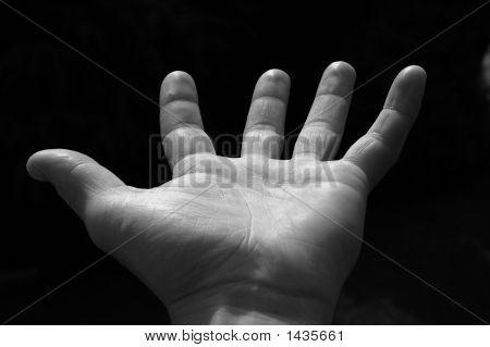 Worn Hand