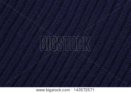 Blue Knitted Fabric