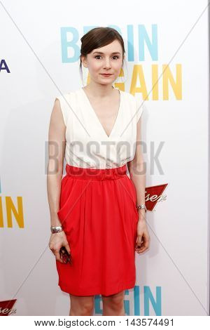 NEW YORK-JUNE 25: Libby Woodbridge attends the New York premiere of Weinstein company's