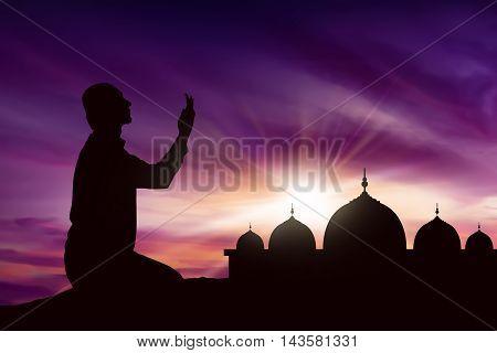 Young Asian Muslim Man