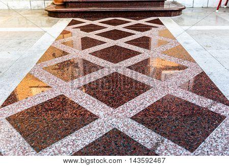 Marble Or Granite Floor Slabs For Outside Pavement Flooring.