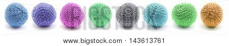 Knitted Round Juggling Ball