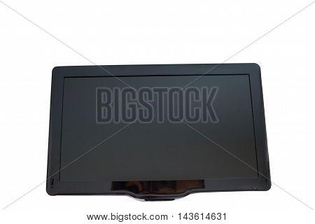 TV digital technology on a white background
