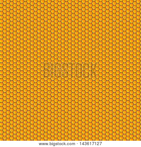 Seamless honeycombs pattern vector.Background abd texture honeycombs