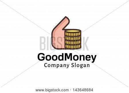 Godo Money Logo Creative And Symbolic Design Illustration