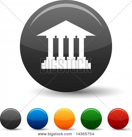 Exchange icon set. Vector illustration.